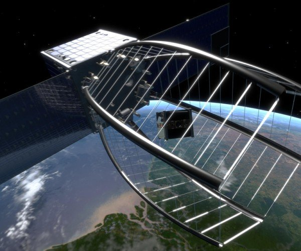 Janitor Satellite Will Gobble Smaller Satellite Pac-Man Style