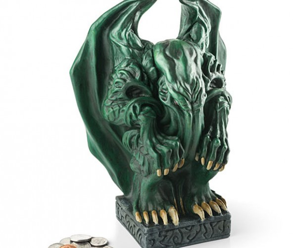 Cthulhu Piggy Bank Protects Your Gold with Madness