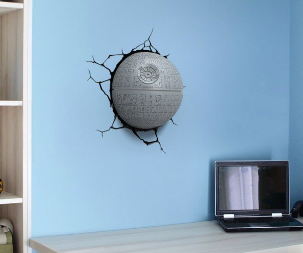 3D Light FX Star Wars Wall Crashers: That's No Moon, it's a Nightlight!