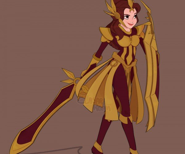 Disney Heroines as League of Legends Champions: Adorbz Disney Characters