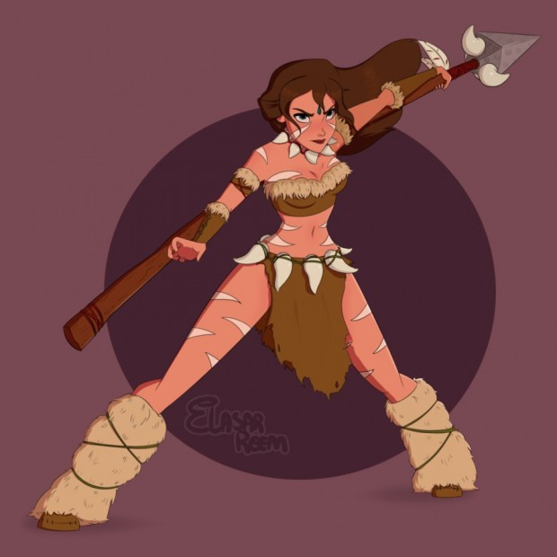 disney_heroines_league_of_legends_mashup_by_elasar_reem_8