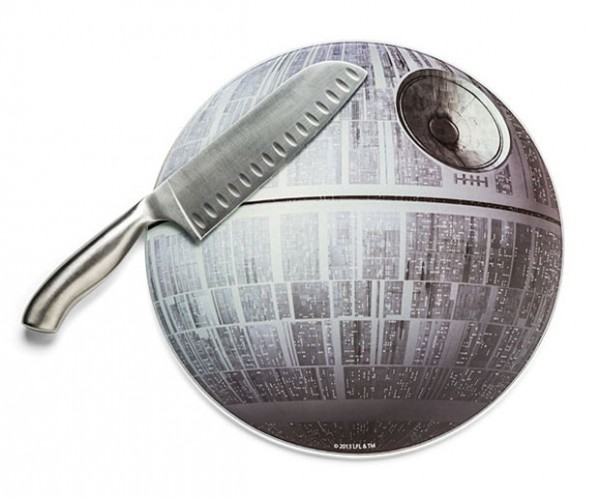 Death Star Cutting Board: Cooking Your Grub in Alderaan Places
