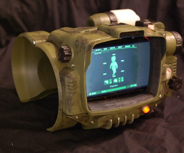 DIY Fallout 4 Pip-Boy 3D Files: Jury Printing