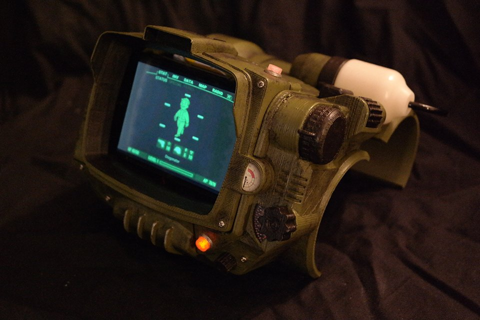 abstract fallout pip boy - photo #19