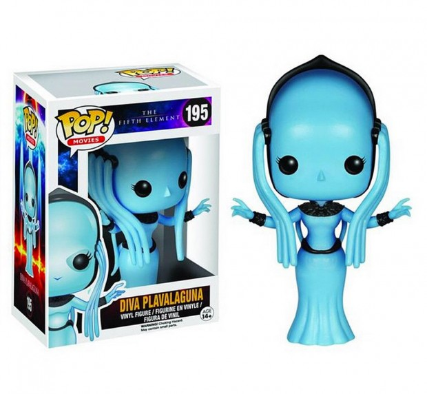 Funko POP Fifth Element Toys Have A Multipass