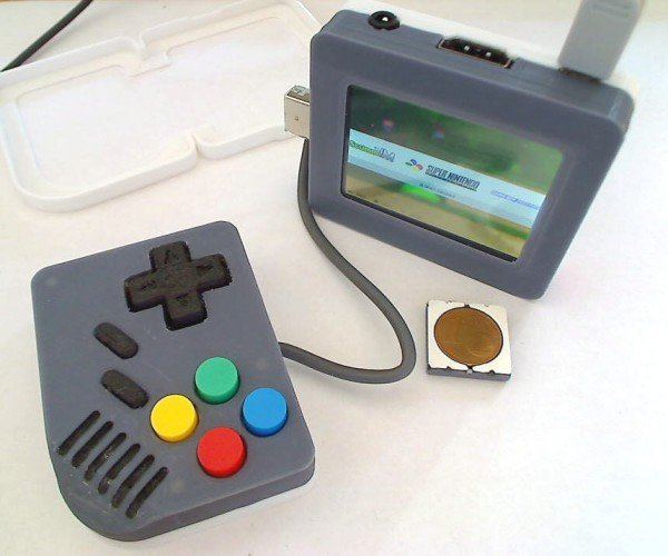 Raspberry Pi Retro Console with Two Halves: Game Boy SPlit