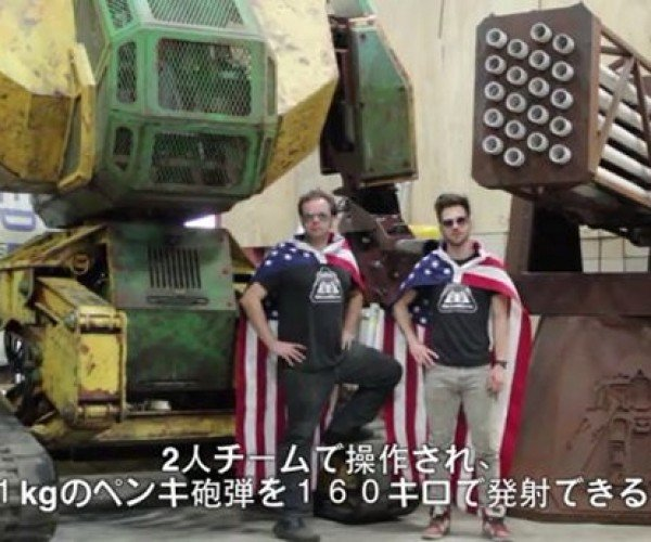 U.S. Challenges Japan to a Mech Duel