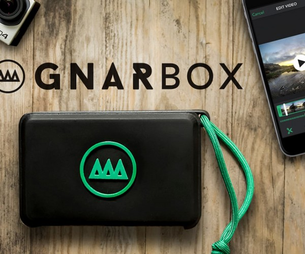 Gnarbox Portable Video Editing Computer Turns the iPhone into a Dumb Terminal