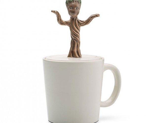 Dancing Baby Groot Mug Wants Your Coffee Black