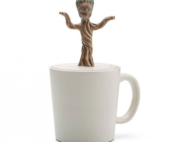 Dancing Baby Groot Mug Wants Your Coffee Black