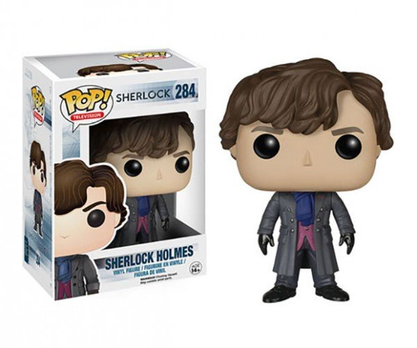 Sherlock Funko POP! Action Figures are Elementary, My Dear Watson.