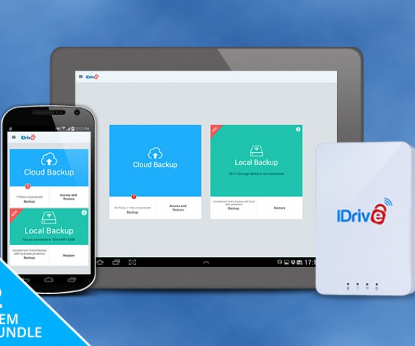 Deal: Save 46% on the IDrive 1TB Hard Drive & 1TB Cloud Backup Bundle