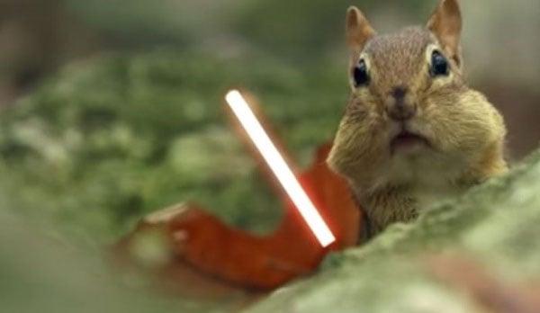 Jedi Chipmunks Act Out Iconic Star Wars Scene Technabob