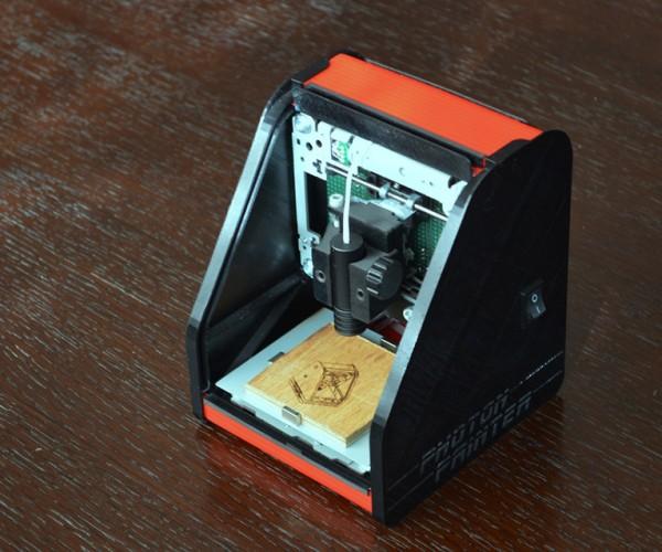 DIY Pocket Laser Engraver: Pewny