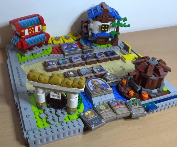 LEGO Hearthstone Game Board: Let's Get Physical!