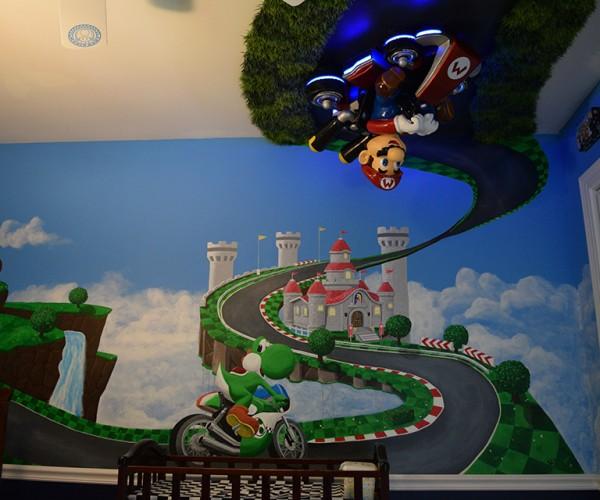 Mario Kart 8 Nursery: Baby Park
