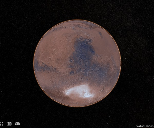 NASA Mars Trek Lets Us Explore the Red Planet