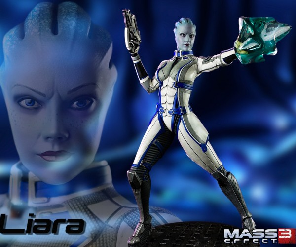Mass Effect Liara Figure is Big, Blue and Beautiful