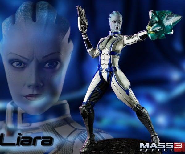 Mass Effect Liara Figure is Big, Blue and Beautiful