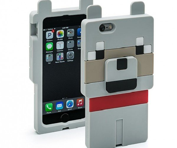 Minecraft Wolf Smartphone Case Isn't Trainable