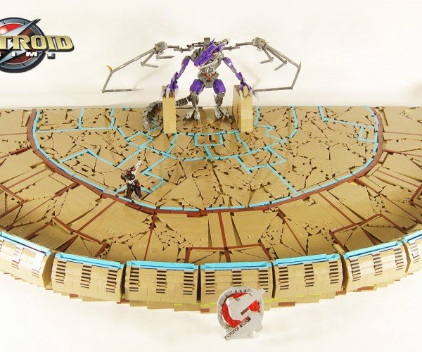 Metroid Prime Boss Battle Recreated in LEGO