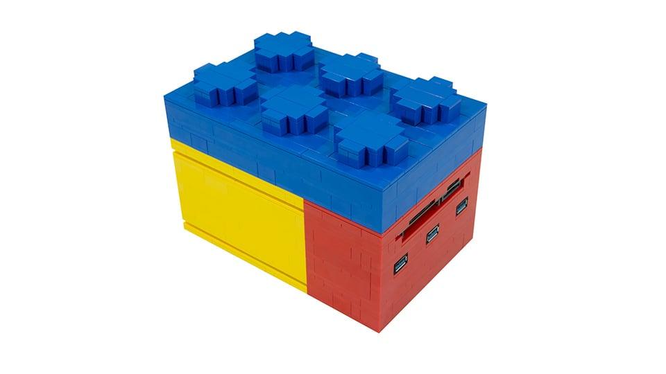 Micro LEGO Computer Has Stackable Modules: NUCs and Bricks - Technabob