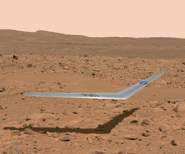 NASA Boomerang is an Drone for Exploring Mars