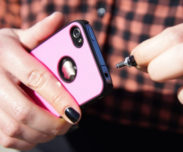 Pluggy Lock Turns the Headphone Jack into a Strap Loop: Fill a Hole with a Hole