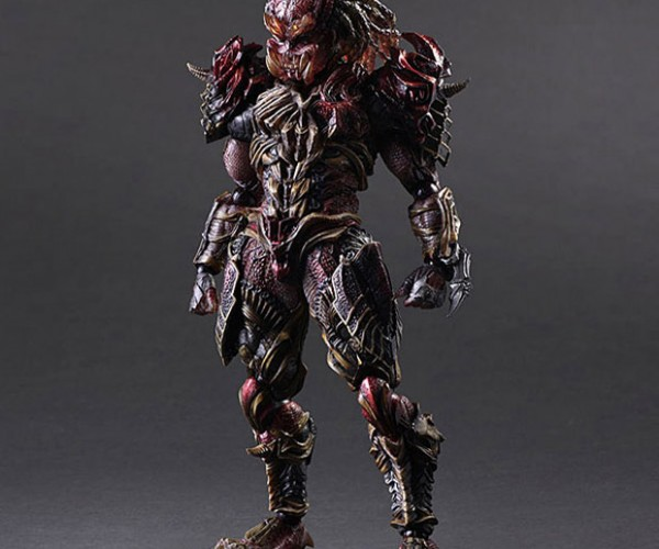 Predator Play Arts Kai Variant Action Figure is a Skull Ripper