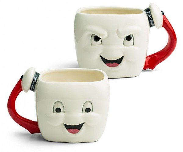 Ghostbusters Stay Puft Marshmallow Mug Could Never Ever Possibly Destroy Us