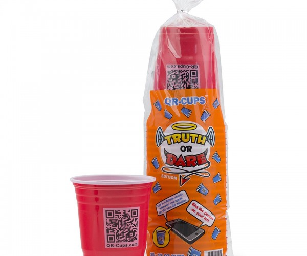 QR Cups Truth or Dare Edition: Scan for Fun