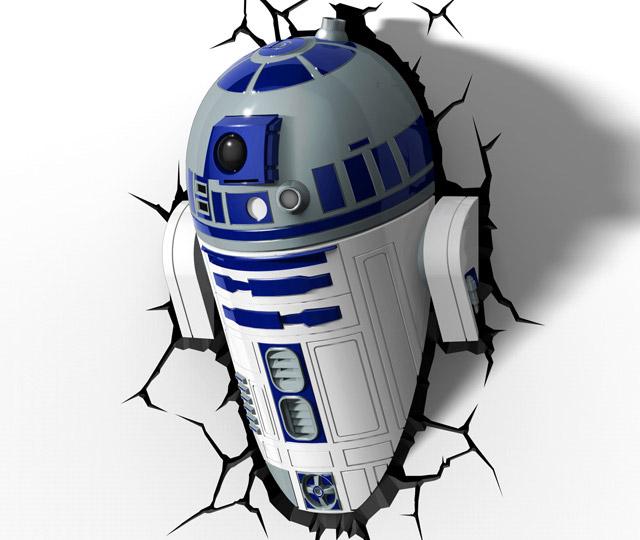 3D Light FX Star Wars Wall Crashers: That s No Moon, it s a Nightlight! - Technabob