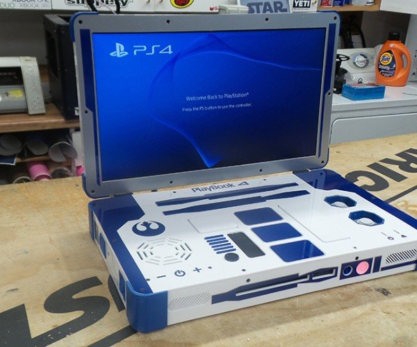 R2-D2 PS4 Laptop: The Console You're Looking for