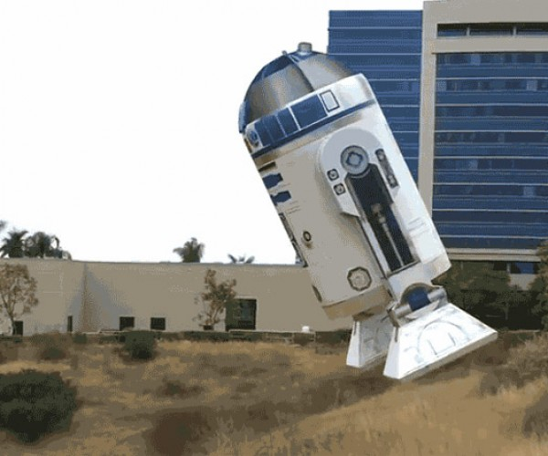 R2-D2 Drone Takes to the Skies