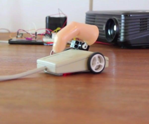 Robot Mouse Randomly Moves & Clicks While Online: Stumbleupon, Analog Edition