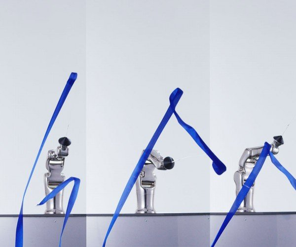 Robotic Rhythmic Gymnastics: Creepy and Beautiful