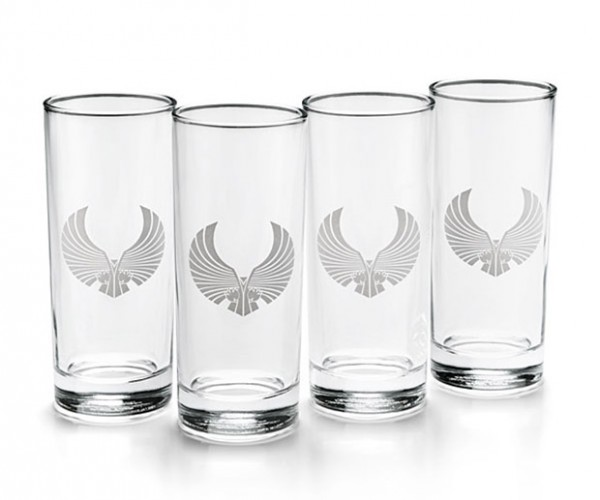 Romulan Ale Pint Glasses Beg for Blue Beer