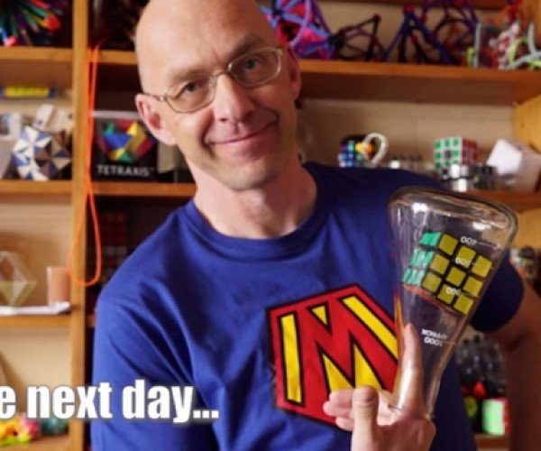 Learn How to Put a Rubik's Cube Inside a Bottle