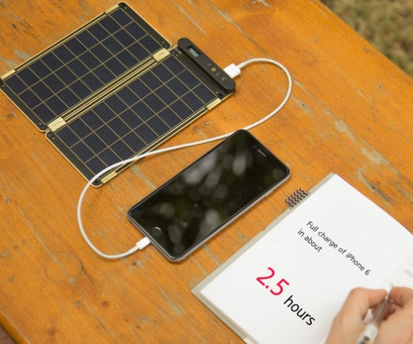 Solar Paper Thin & Light Charger: Diet Solar