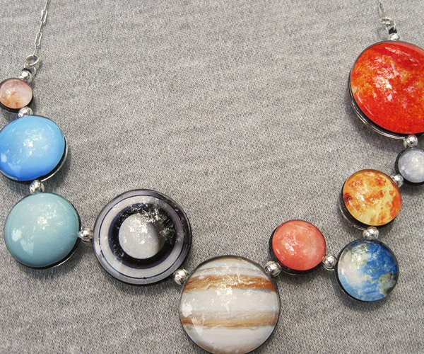Giveaway: Win This Awesome Solar System Bracelet or Planetary Cufflinks