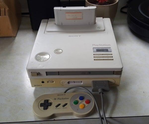 Sony Nintendo PlayStation Prototype: History Awaits