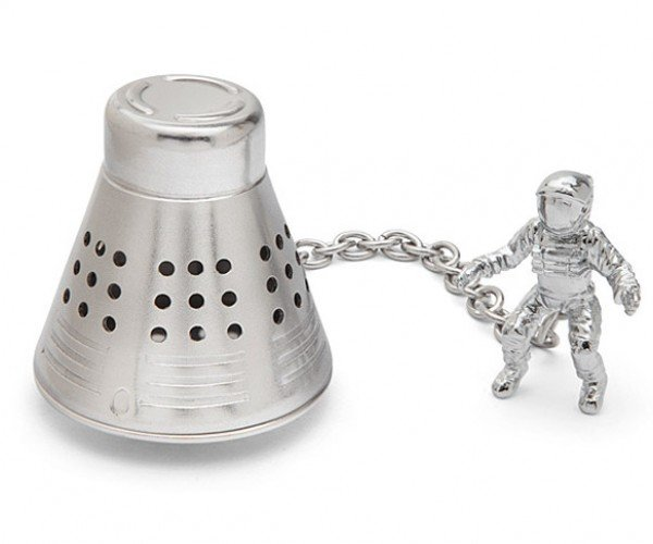 Space Capsule Tea Infuser: T-Minus Tea Time