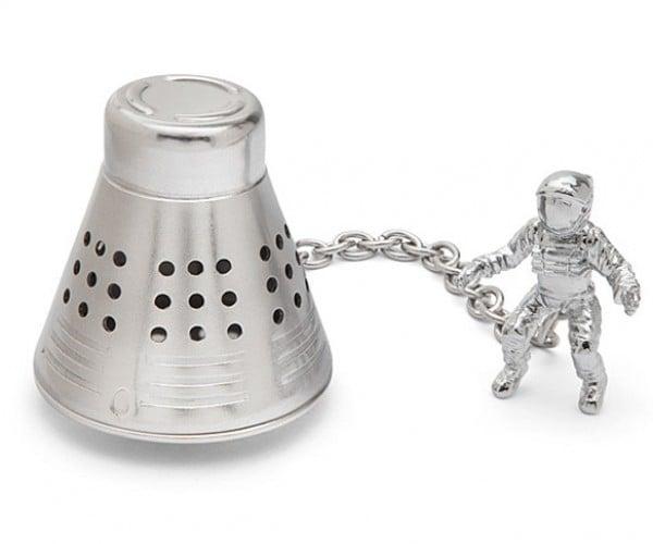 Space Capsule Tea Infuser: T-Minus Tea Time