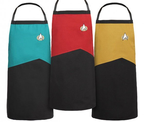 Star Trek TNG Aprons: Boldly Keep Your Clothes Clean