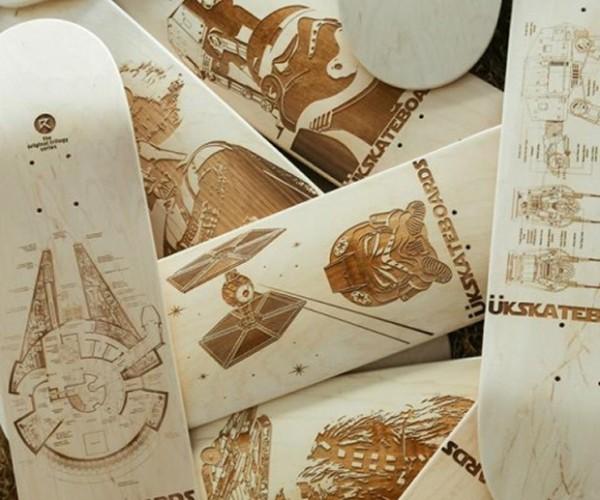Star Wars Skateboards: Use the Frontside Heelflip, Luke!