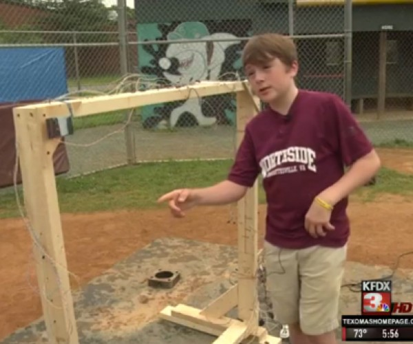 Teen Invents Baseball Strike Laser Sensor: Perfect Pitch