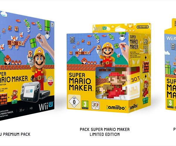 Nintendo Announces Three Super Mario Maker Editions