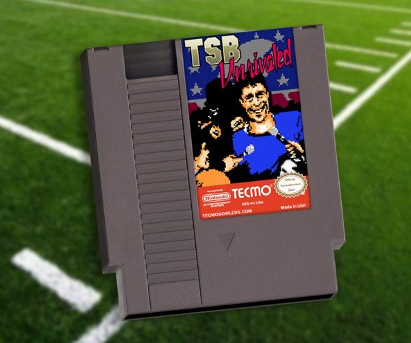 Tecmo Super Bowl & RBI Baseball NES Cartridges with 2015 Rosters: Sports. Sports Never Change