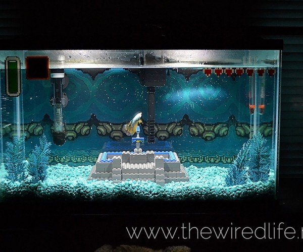 The Legend of Zelda Aquarium Doesn't Come with Fish or Octoroks