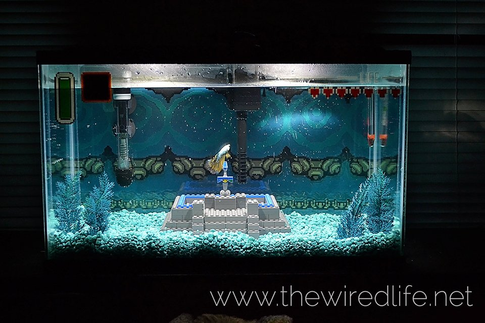 The Legend Of Zelda Aquarium Doesn T Come With Fish Or